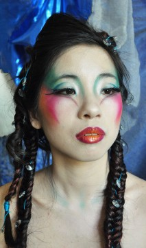 Make up coiffure